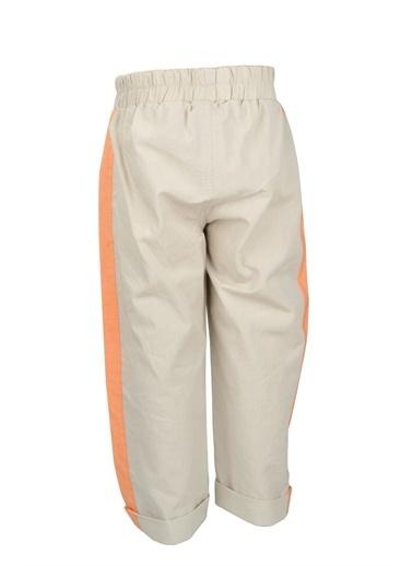 Mininio Bej Bel Lastikli Baskılı Pantolon (9ay-4yaş) Bej Bel Lastikli Baskılı Pantolon (9ay-4yaş) Bej